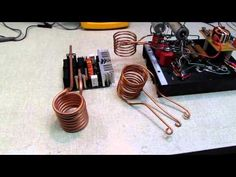 Chinese 1000 W ZVS Induction Heater VS. Home Made - YouTube