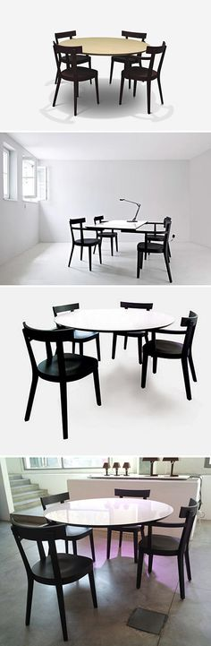 Ingo Maurer : Table With No Legs