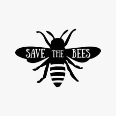 Save the Bees // Vinyl Decal