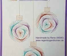 String Art Patterns, Paper Embroidery, Pin Art, Card Stock, Decorative Plates, Paper Crafts, Place Card Holders, Etsy, Christmas