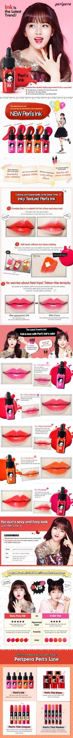 PERIPERA Peri's Ink Oh! Set (Tint Ink and Ink Remover Set) - Lip