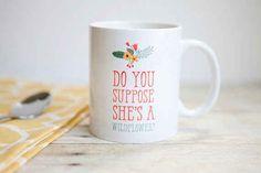 This Alice in Wonderland-inspired mug.