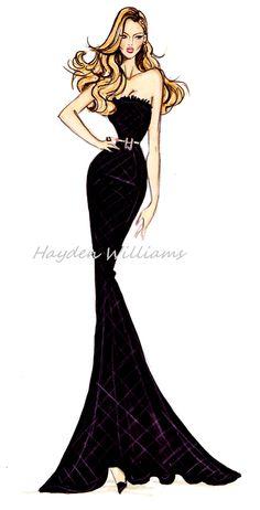 Hayden Williams Fashion Illustrations, yukidelicioso: Hayden Williams Animated...