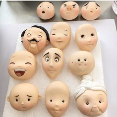 Likes, 79 Comments – Carlos Lischetti Official ( … - Modelagens Polymer Clay Figures, Polymer Clay Dolls, Polymer Clay Projects, Cake Topper Tutorial, Fondant Tutorial, Fondant People, Decoration Patisserie, Cake Decorating Tutorials, Paperclay
