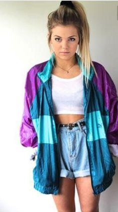 DIY some cute clothes I.e ripped jeans, shorts, crop tops, distressed tops etc 80s And 90s Fashion, Hip Hop Fashion, Fashion Outfits, 1980s Fashion Trends, Sandro, Throwback Outfits, Estilo Hip Hop, Hip Hop Women, Party Kleidung