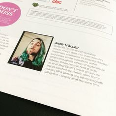 Oh my gosh! Totally only realized now that I'm in the June REAL ESTATE Magazine! Funny Bio, Digital Media, Horror Movies, Writer, June, Real Estate, Social Media, Magazine, Feelings