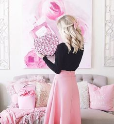 Guide & tips on how to be a girly girl for those that crave the feminine style know where to even start with achieving it. MORE PICTS You ca. Girly Girl Outfits, Girly Outfits, Cute Outfits, Girly Girls, Pink Girl, Trendy Outfits, Dress Outfits, Summer Outfits, Modern Princess