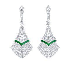 Louis Vuitton Acte V Escape Luxor earrings