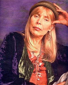 Joni Mitchell - Canadian musician, songwriter, and painter Born November 7, 1943, in Fort Macleod, Alberta, Canada.  Inducted into Songwriters Hall of Fame and Rock And Roll Hall of Fame (Performer) in 1997.  Mitchell began singing in small nightclubs in her native Western Canada and then busking on the ...