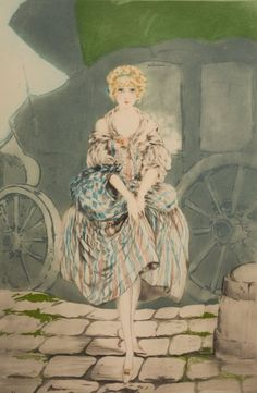 Absolutely LOVE the works of Louis Icart