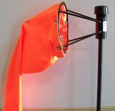 Windsocks are one of the most useful tools for determining the wind direction and speed.