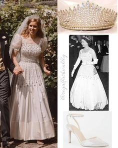 Princess Beatrice Wedding, Princesa Beatrice, Sarah Ferguson, Royal Fashion, White Dress, Ivory, Shades, Wedding Dresses, Blog