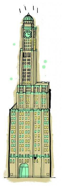 An Illustrated Tour of All the Buildings in New York | Brain Pickings