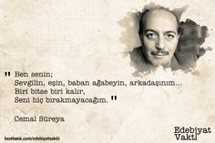 Cemal Süreya - My WordPress Website Literature Quotes, Good Sentences, Lost In Translation, Some Words, Carpe Diem, Words Quotes, Karma, Quotations, Cool Photos