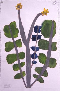 Miroco Machiko - I really like this! Plant Illustration, Botanical Illustration, Botanical Art, Graphic Design Illustration, Motif Floral, Arte Floral, Plant Painting, Naive Art, Outsider Art
