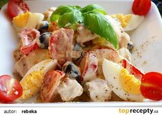 Tuňák snack salát s olivami recept - TopRecepty.cz
