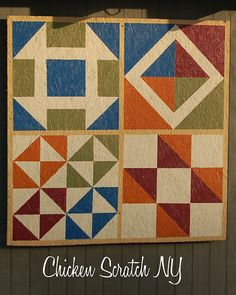 Barn Quilt- tutorial