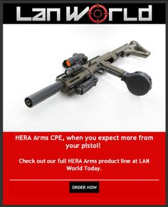 Colt Piston Extension (CPE) from HERA Arms