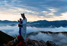 Vierge D'Orisson in the French Pyrenees on the Camino de Santiago