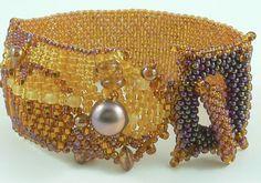 What if... using freeform peyote in beadwork di daxbeadartpatterns