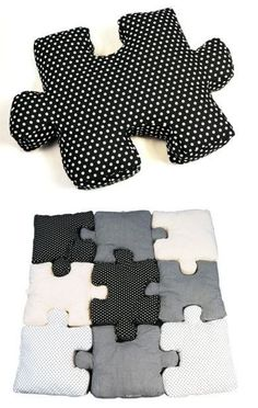 Beautiful Puzzle Pillows