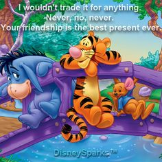 Love me some Tigger and need to get my inner child back- Oh so bad