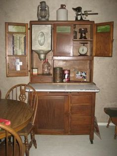 decorating a hoosier cabinet   ... inside your house! - Home Decorating & Design Forum - GardenWeb