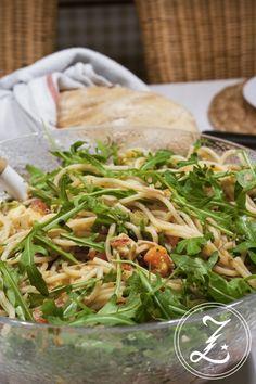 leichter Nudelsalat italienische Art   Zuckergewitter.de