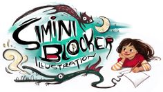 "Simini blocker's blog full of amazing illustrations! ""Freelance illustrator, currently operating on ""Reckless Optimism."""""