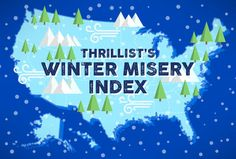 Thrillist Winter Misery Index