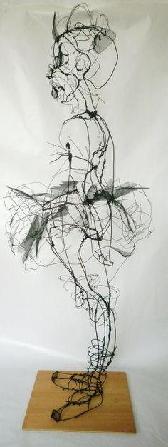 Menina com Tutu, 2010, by David Oliveira