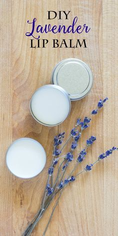 Make this simple DIY lavender lip balm for yourself or to give away as a gift. It's an easy, all-natural alternative to over-the-counter products.