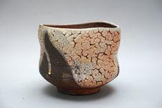 Items similar to Wood fired Shino glazed Tea Bowl on Etsy Slab Pottery, Pottery Vase, Ceramic Pottery, Ceramic Mugs, Ceramic Bowls, Sculpture Clay, Ceramic Sculptures, Handmade Pottery, Handmade Ceramic