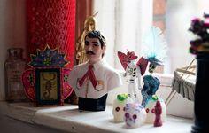 Inside Valentina's home: Jesús Malverde and friends