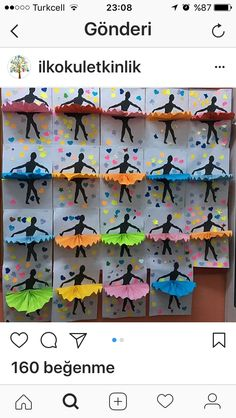 This looks like a fun Degas lesson to teach paper folding. Preschool Crafts, Fun Crafts, Diy And Crafts, Crafts For Kids, Arts And Crafts, Paper Crafts, Art N Craft, Craft Work, Camping Crafts