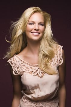 Katherine Heigl - I love all her movies..she's so funny!