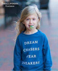 Smallwoods Girl Dream Chaser Sweatshirt