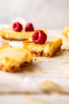 Creamy Lemon Bars with Browned Butter Raspberries 16 Bars, Keylime Pie Recipe, Sweet Bar, Half Baked Harvest, Lemon Bars, Brown Butter, Summer Desserts, How Sweet Eats, Chocolate Desserts