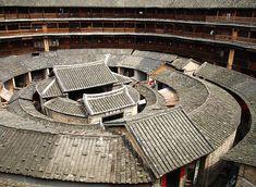 世界遺産 福建の土楼 中国の絶景写真画像 中国