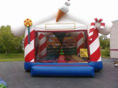 Inflatable Candyland Bounce House