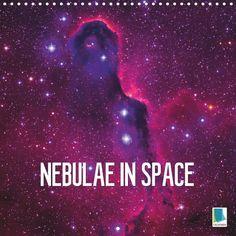 Nebulae in space - CALVENDO calendar - #space #planets #calendar #galaxy #calvendo