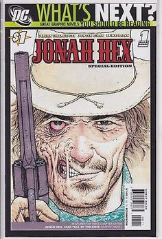 Jonah Hex #1 DC Comics Special Edition western thriller ghost first issue