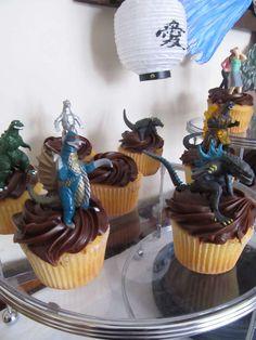 Godzilla~Luke's 6th Birthday Party | CatchMyParty.com