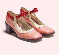Bestellen Sie die bezaubernden 60er Jahre Designer Flair Schuhe Orla Amelia aus der Orla Kiely Kollaboration für 200,00 Euro: http://www.clarks.de/p/26113422