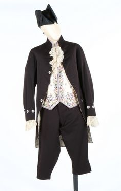 958457b1c86 A gentleman s 18th century style court livery