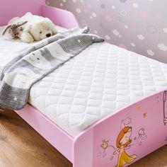 Kinderbettmatratze von BADENIA online bestellen Toddler Bed, Furniture, Home Decor, Products, Bed Mattress, Kid Beds, Kidsroom, Child Bed, Interior Design