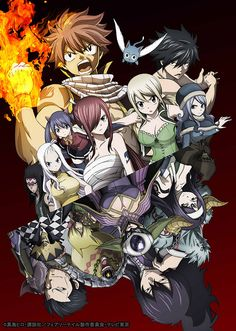 "Crunchyroll - New ""Fairy Tail"" Tartarus Arc Visual Posted"