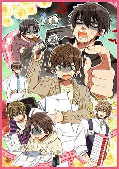All Anime, Manga Anime, Otaku, Ciel Nocturne, Natsume Yuujinchou, Kawaii Chibi, Manga Illustration, Shounen Ai, Before Us