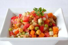 De tudo um pouco: Saladas