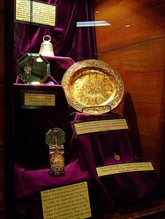 Other treasure from Atocha on display at the Mel Fisher Treasure Museum.  Mel Fisher Days every July!